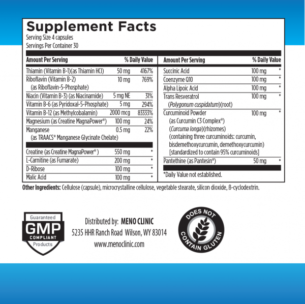ATP Supplement Facts