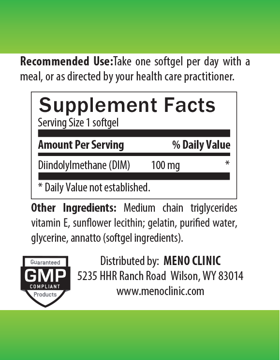 DIM Supplement Facts