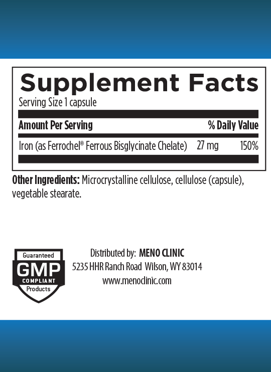 Iron Supplement Facts