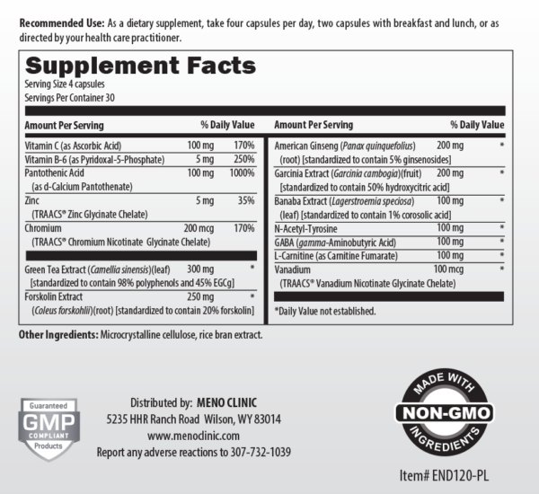Trim Supplement Facts