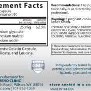 Triple Mag Supplement Facts