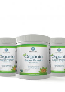 Organic Super Protein Vanilla 3 Pack