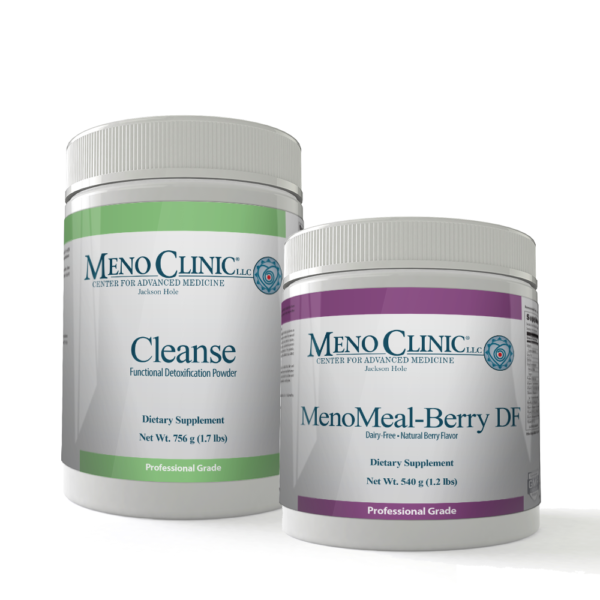 Cleanse Combo Pack with MenoMeal Berry DF