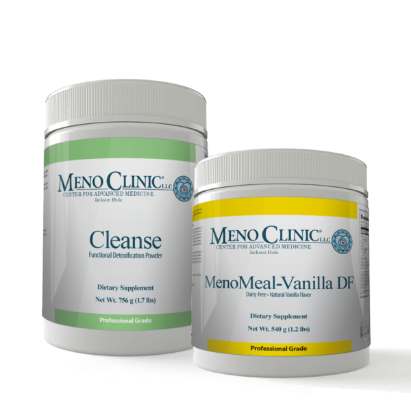 Cleanse Combo Pack with MenoMeal Vanilla DF