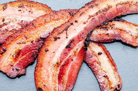 Scared to eat bacon after the WHO report on processed meat? Mark Menolascino, MD, might be able to turn that frown upside down.