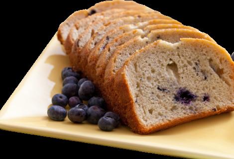 Grain Free, Gluten Free Blueberry Banana Breakfast Bread