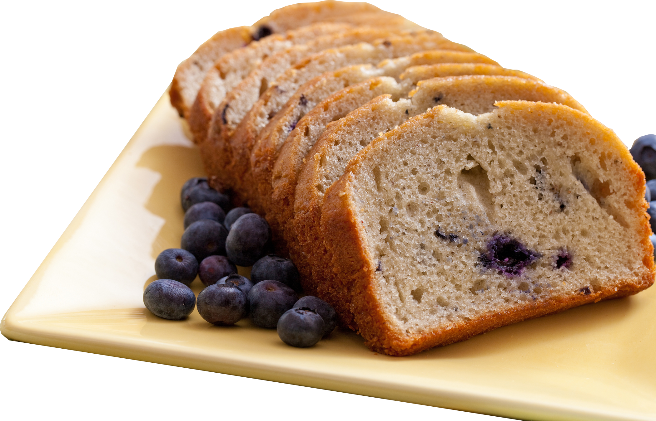Grain Free, Gluten Free Blueberry Banana Breakfast Bread