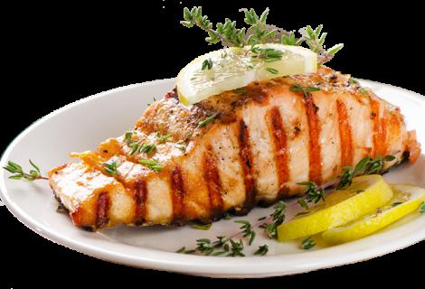 Salmon with Lemon & Thyme