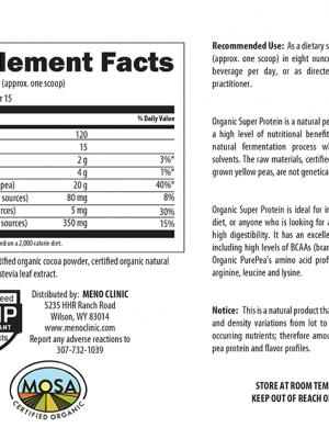 Organic Super Protein Chocolate