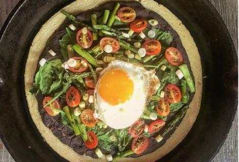 Paleo Pancake Pizza