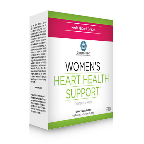 Womens Heart Health Support Complete Pack