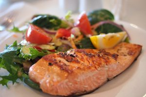 Garlic & Herb Salmon