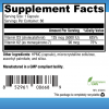 D3 5000 + K2 Supplement Facts