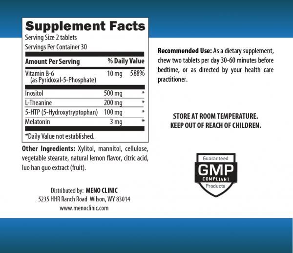 Sleepy Treats Supplement Facts