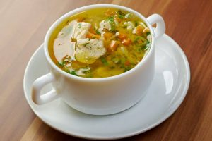Cozy Turmeric Chicken & Cauliflower Soup