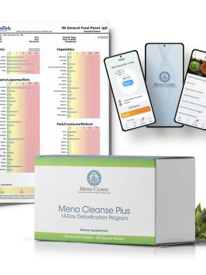IgG Test + Meno Cleanse Plus + Health & Wellness App + Consultation